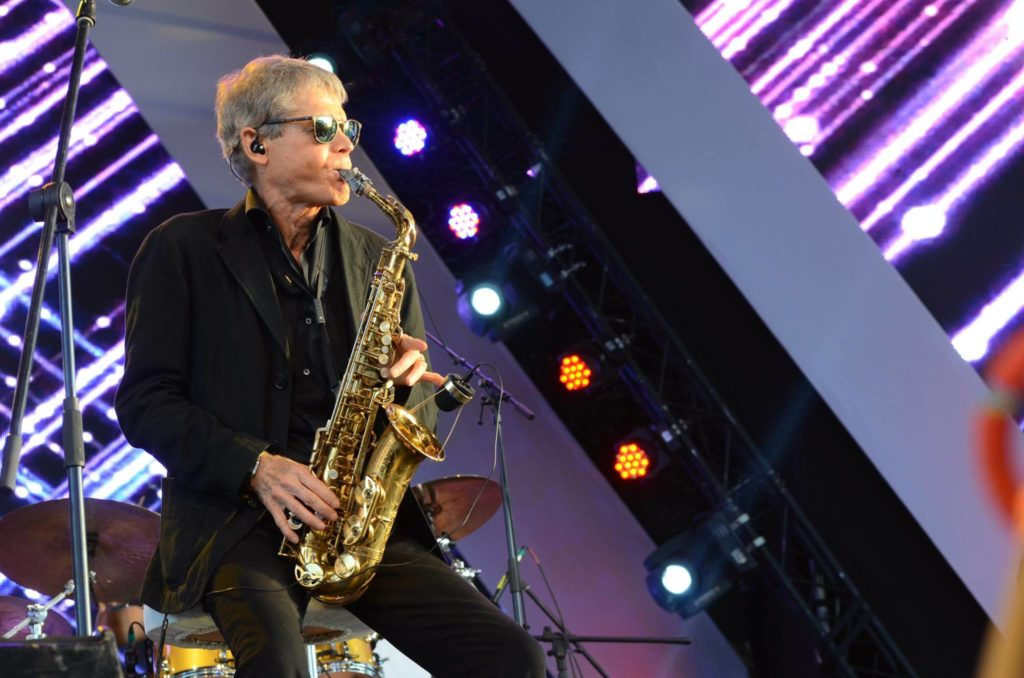 Saxophonist David Sanborn Does't Let Genres Define Him