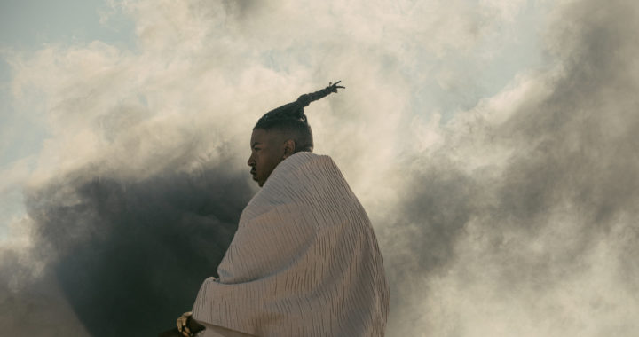 "For Africa, Christian Scott places his project ""The Sound Carved For A Legend"" with MWI"