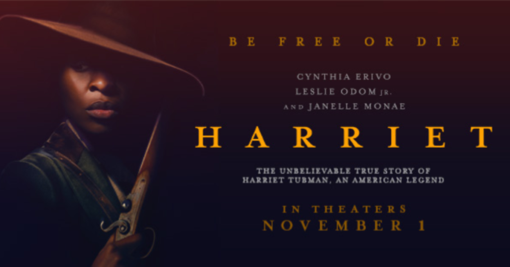 First Trailer For HARRIET Released Starring Cynthia Erivo, Film Score By Terence Blanchard