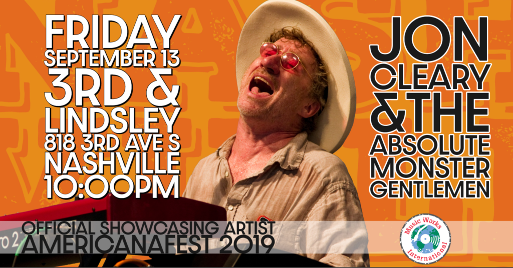 Jon Cleary & the Absolute Monster Gentlemen | Official Showcasing Artist Americanafest 2019