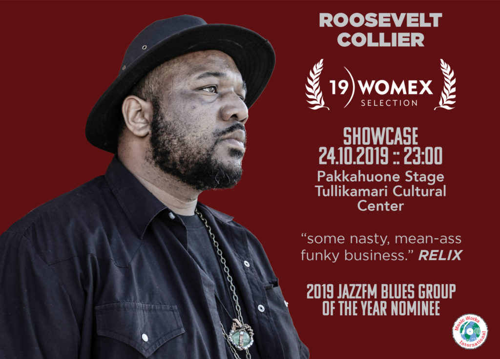 Roosevelt Collier Brings Sacred Steel To WOMEX In Tampere, Finland
