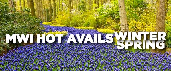 Winter/Spring Tours Europe 2022